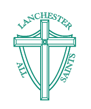All Saints Lanchester logo